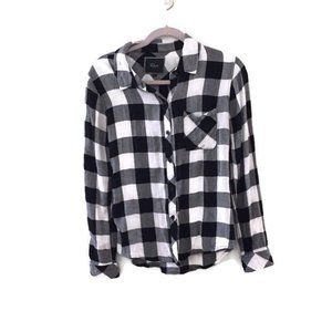RAILS Hunter flannel Checkered button down shirt